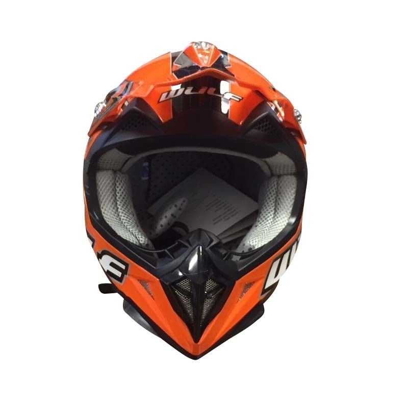 kinder cross helm flite xtra m 49 50cm orange motorrad. Black Bedroom Furniture Sets. Home Design Ideas