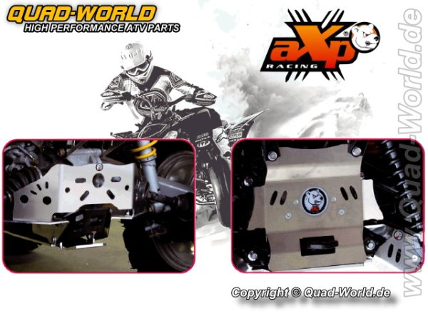 AXP ATV Auffahrschutz Yamaha GRIZZLY 700 07- (4mm)
