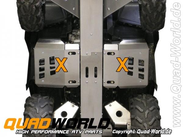 CRD Trittbrett Schützer Unterfahrschutz Can Am Outlander 1000 MAX XT XC