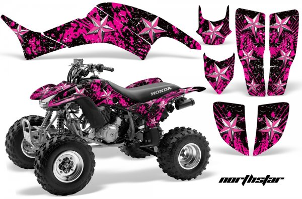 Grafik Kit Dekor North Star Honda TRX 400EX 99-07 Quad ATV Graphic Kit