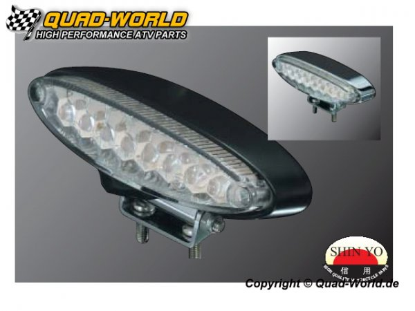 LED Rücklicht Stinger Gehäuse schwarz Glas Klar Stinger