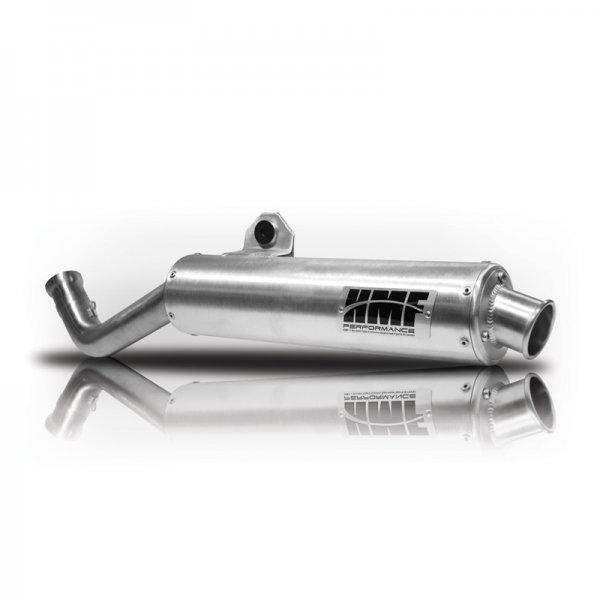 HMF Auspuff Endtopf QS Titan Serie Chrom. mit Billet Endkappe Yamaha Yamaha Grizzly 700 550 10-13