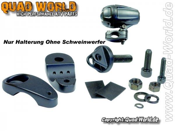 Quad ATV Scheinwerferhalter für X1 Ellipsoid Scheinwerfer 1 Stück