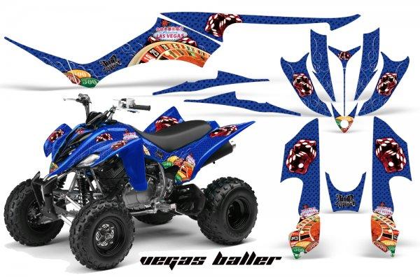 Grafik Kit Dekor Vegasballer Yamaha YFM 350 R Quad ATV Graphic Kit
