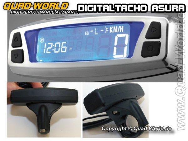 Digital Tacho Cockpit ASURA Chrom E-Geprüft