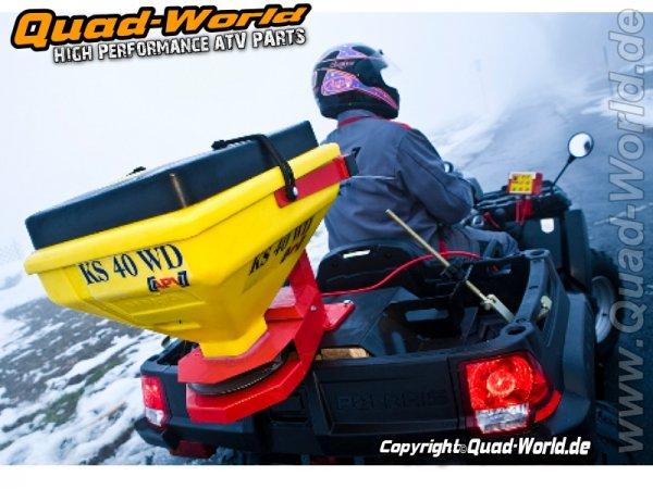 Salz Streuer KS 40 WD Elektrischer Streuer für ATV, UTV & Quad Salzstreuer