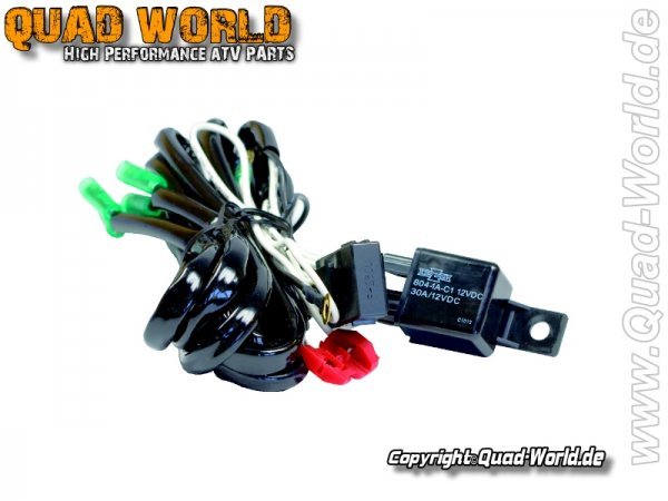 Universal Kabelbaum für 1 mal X1 Ellipsoid Scheinwerfer 1 Stück