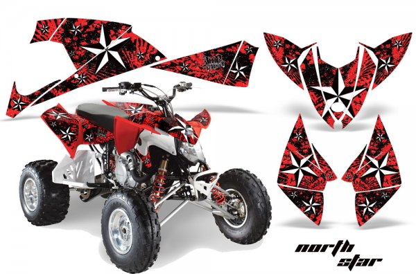 Grafik Kit Dekor North Star Polaris Outlaw 450/500/525 09-11 Quad ATV Graphic Kit