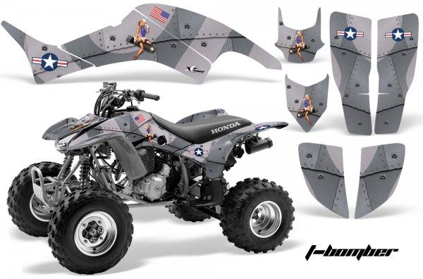 Grafik Kit Dekor T-Bomber Honda TRX 400EX 99-07 Quad ATV Graphic Kit