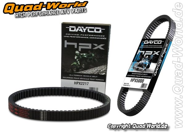HPX2203 ATV Antriebsriemen Dayco HPX ATV BELT High Performance Extreme ver.