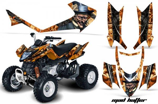 Grafik Kit Dekor MadHatter Arctic Cat DVX 400/300/250 Quad ATV Graphic Kit