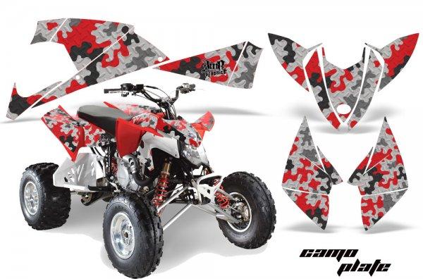 Grafik Kit Dekor Camo Plate Polaris Outlaw 450/500/525 09-11 Quad ATV Graphic Kit