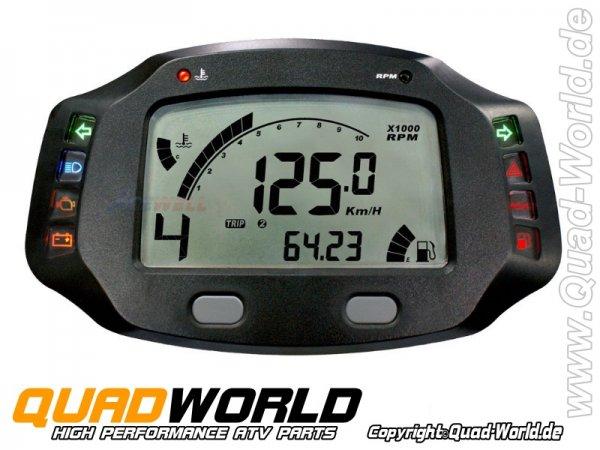 Acewell ACE-7659 Digitaltacho für Quad ATV und Motorrad