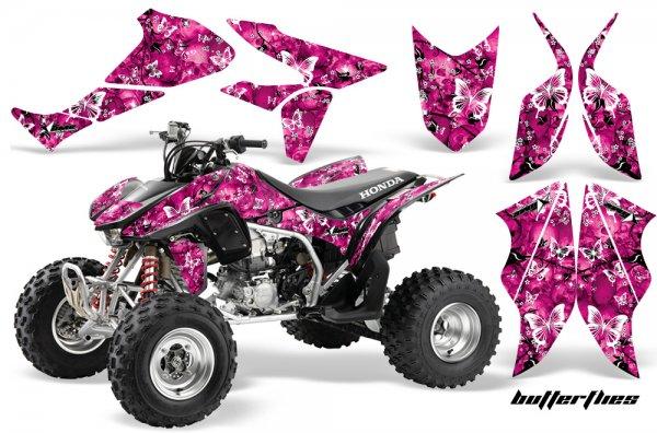 Grafik Kit Dekor Butterfly Honda TRX 450R 04-11 Quad ATV Graphic Kit