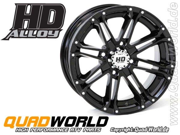 ATV Felge STI Alloy HD3 glänzend Black 12x7 4/110 5+2