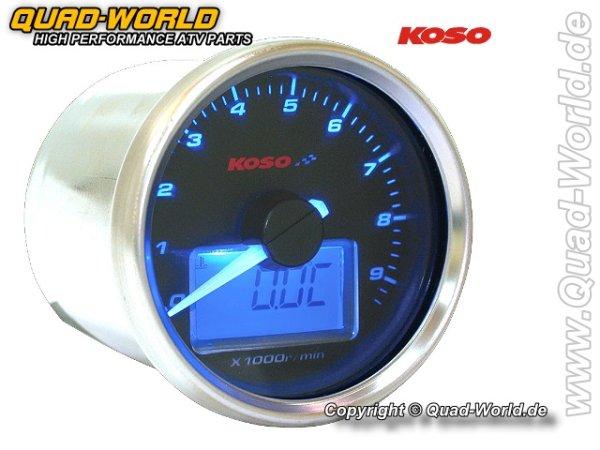 KOSO Drehzahlmesser GP-Style Drehzahl 0 - 16.000 U/min