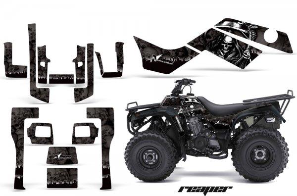 Grafik Kit Dekor Reaper Kawasaki Bayou 250/300 Quad ATV Graphic Kit