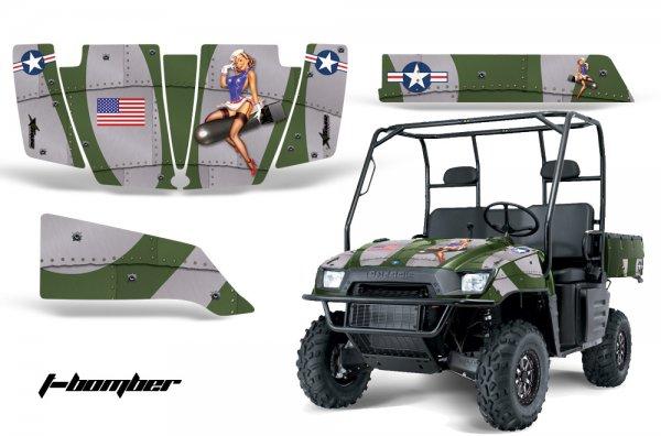 Grafik Kit Dekor T-Bomber Polaris Ranger 500/700 XP 05-08 UTV Graphic Kit