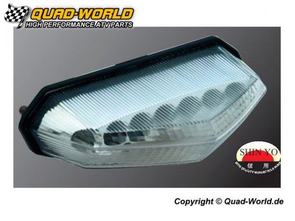 LED Rücklicht Lightning transparentes Glas
