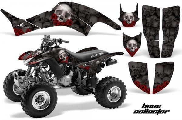 Grafik Kit Dekor Bone Collector Honda TRX 400EX 99-07 Quad ATV Graphic Kit