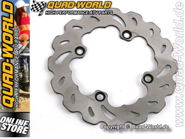 QUAD-WORLD RACING Bremsscheibe Kawasaki KFX 700 hinten