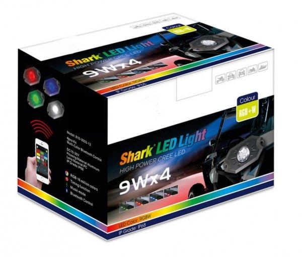 Creed LED Light Stabile mehrfarben Lichter 3W Bluetooth Steuerung ideal für ATV UTV Quad
