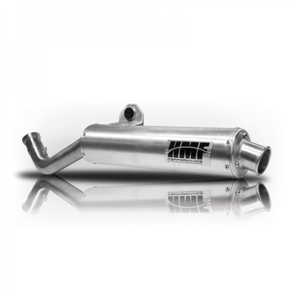 HMF Auspuff Endtopf QS Titan Serie Chrom. mit Billet Endkappe Yamaha Yamaha Grizzly 700 Kodiak 700