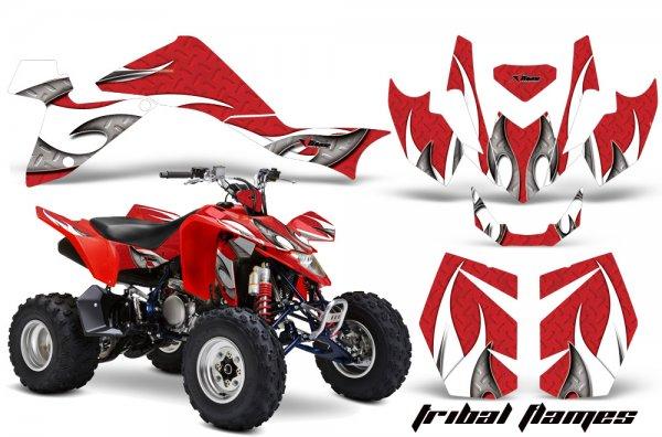 Grafik Kit Dekor Tribal Flame Suzuki LTZ 400 09-11 Quad ATV Graphic Kit