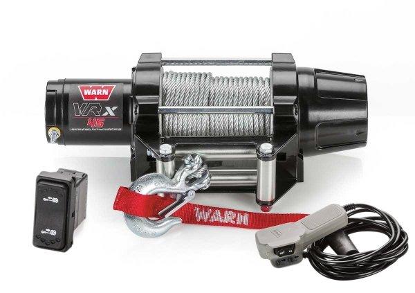 WARN VRX 45 Seilwinde 2041 KG ZUGKRAFT 15.2m STAHLSEIL