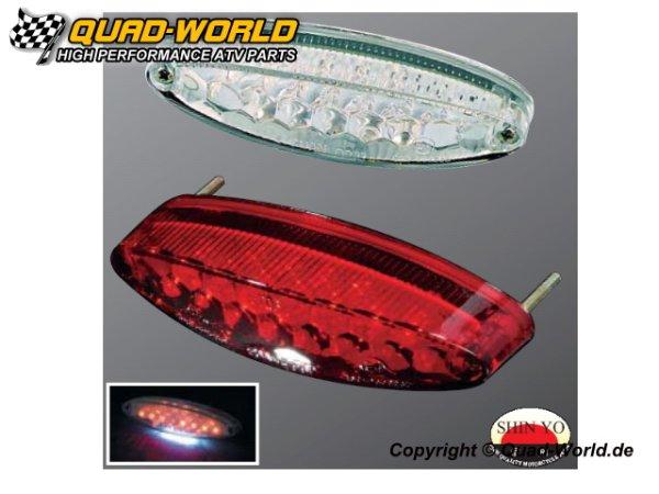 LED Rücklicht Stinger Glas Transparent