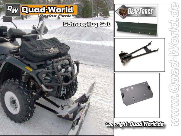 Winterpaket Schneeschild Set CC Bear Force 60 Zoll 152cm ver. ATV