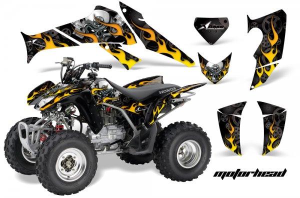 Grafik Kit Dekor Motorhead Honda TRX 250EX / 250R Quad ATV Graphic Kit