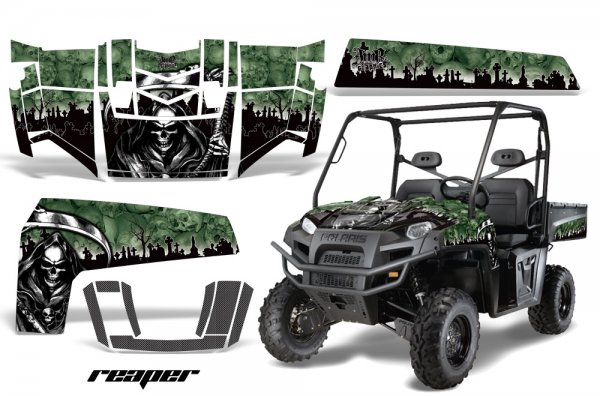 Grafik Kit Dekor Reaper Polaris Ranger XP 500/700 4X4 UTV Graphic Kit