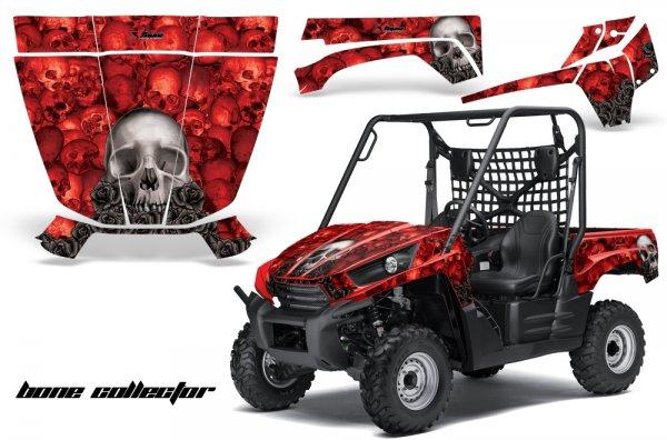 Grafik Kit Dekor Bone Collector Kawasaki Teryx 750 10-11 UTV Graphic Kit