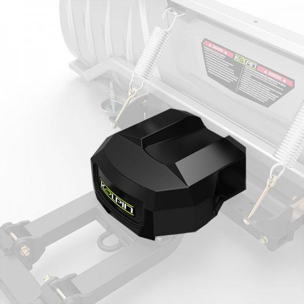 Kolpin Drehmotor für ATV und UTV Schneeschild High Rise Power Angle