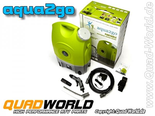 aqua2go Tragbarer Mobiler Hochdruckreiniger Power Cleaner