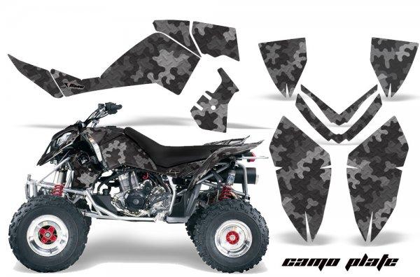 Grafik Kit Dekor Camo Plate Polaris Outlaw 450/500/525 06-08 Quad ATV Graphic Kit