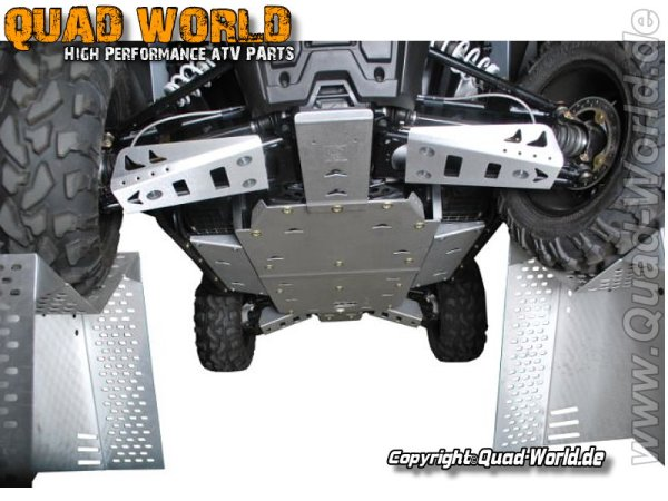 Pro Armor ProArmor Middel Skidplate Polaris RZR 800 (S)