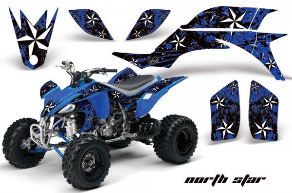 Grafik Kit Dekor Northstar Yamaha YFZ 450 04-08 Quad ATV Graphic Kit