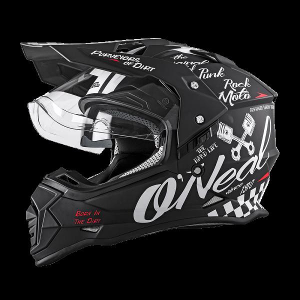 ONeal SIERRA II Helm TORMENT black/white verschieden Größen