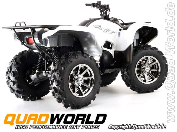 STI HD ALLOY HD2 ATV Felge CHROME 12x7 4/110 5+2
