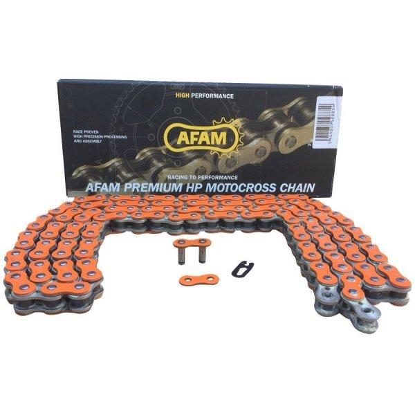 AFAM Quad Kette verstärkt Typ A520MX4-O 520 / 120 Glieder Farbe Orange von 250cc bis 500cc