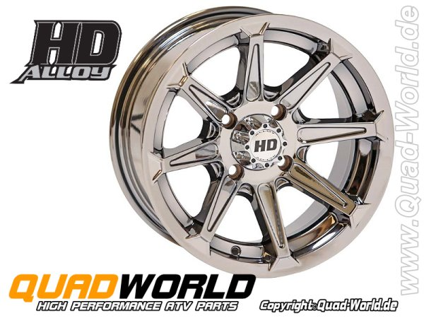 STI HD ALLOY HD2 ATV Felge CHROME 14x7 4/137 5+2