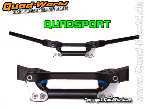 QuadSport Flexx Alu Lenker mit Federsystem Quad ATV Enduro Schwarz