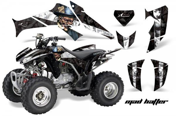 Grafik Kit Dekor MadHatter Honda TRX 250EX / 250R Quad ATV Graphic Kit