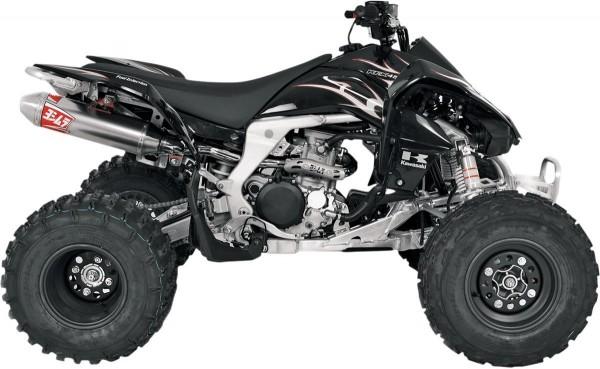 YOSHIMURA Komplettanlage USA RS2 Edelstahl für Kawasaki KFX 450R 08-15
