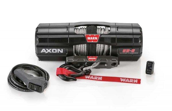 WARN AXON 55-S Seilwinde 2494 KG ZUGKRAFT 15.2m SYNTHETIK SEIL