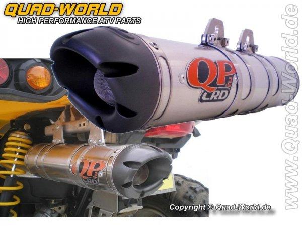 CRD Quiet Power 2 Komplettanlage mit Gutachten Polaris RZR 800 2008