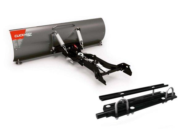 "Kimpex Schneeschild Kit ClickNGo 2 152 cm 60"" für ATV Polaris 400 / 500 / 570 Komplettes Kit"