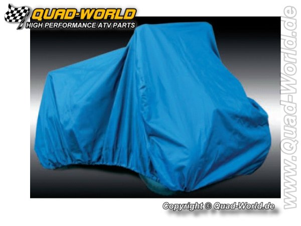 Quad ATV Cover Garage Abdeckplane Größe L Blau